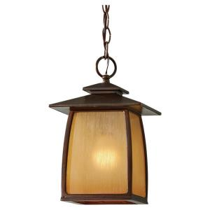 Wright House - One Light Outdoor Hanging Lantern