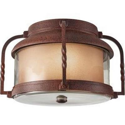 Feiss OL9213CN Menlo Park - Two Light Outdoor Flush Mount