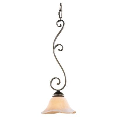 Feiss P1071CB Tuscan Villa - One Light Mini-Pendant