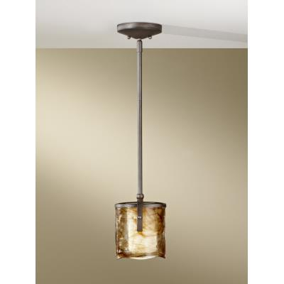 Feiss P1230RBZ Aris - One Light Mini Pendant