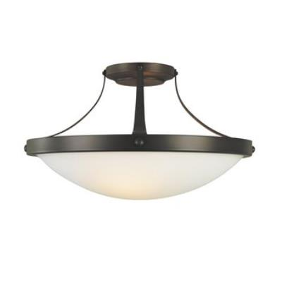 "Feiss SF187ORB Boulevard 15"" Semi Flush Ceiling Fixture"