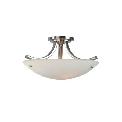 Feiss SF189BS/PN Semi-Flushed Fixture