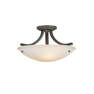 Feiss SF189ORB Semi-Flushed Fixture