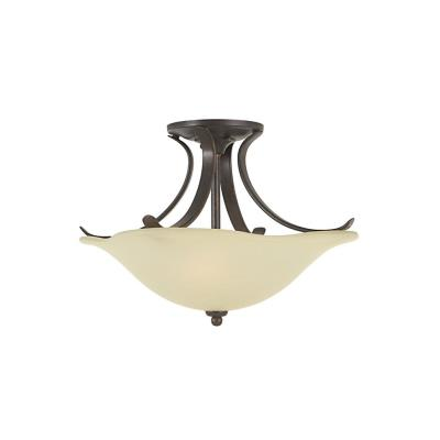 Feiss SF213GBZ Morningside - Two Light Semi-Flush Mount