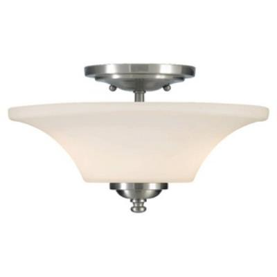 Feiss SF240BS Barrington - Two Light Semi-Flush Mount