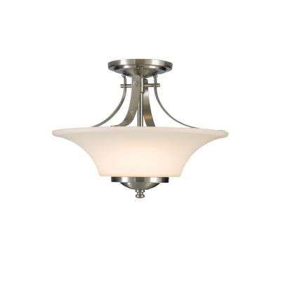 Feiss SF241BS Barrington - Two Light Semi-Flush Mount