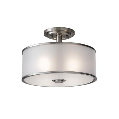 Feiss SF251BS Casual Luxury - Two Light Semi-Flush Mount