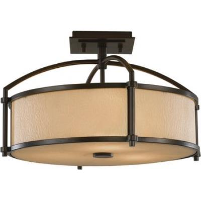 Feiss SF270 Preston - Three Light Semi-Flush Mount