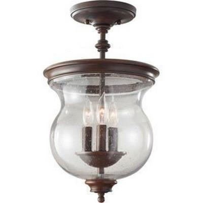 Feiss SF309HTBZ Pickering Lane - Three Light Semi-Flush Mount