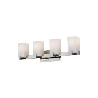 Feiss VS18404-PN Riva - Four Light Bath Vanity
