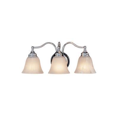 Feiss VS6703-CH Three Light Vanity Strip