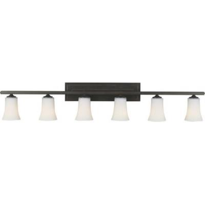 Feiss VS8706-ORB Boulevard 6 Light Vanity Fixture