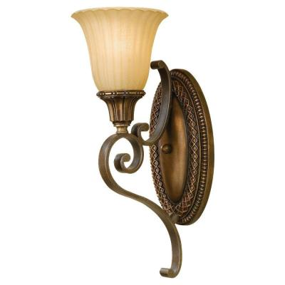 Feiss WB1418FG/BRB Wall Sconce
