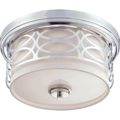 Nuvo Lighting 60/4627 Harlow - Two Light Dome Flush Mount