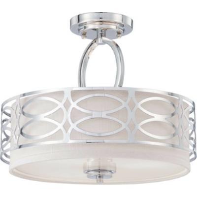 Nuvo Lighting 60/4629 Harlow - Three Light Semi-Flush Mount