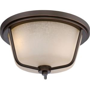 """Tolland - 13"""" 19.6W 2 LED Outdoor Flush Mount"""