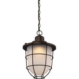 """Bungalow - 16.5"""" 15W 1 LED Outdoor Hanging Lantern"""