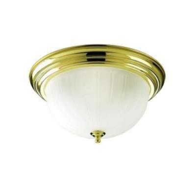 Progress Lighting P3818-10 Melon - Three Light Flush Mount
