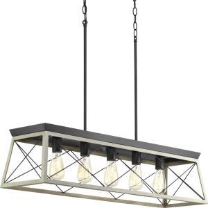 Briarwood - Five Light Linear Chandelier