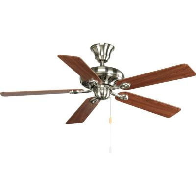 "Progress Lighting P2521-09CH Air Pro - 52"" Ceiling Fan"