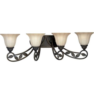 Progress Lighting P2969-84 Le Jardin - Four Light Wall Bracket