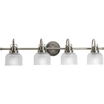 Progress Lighting P2997-81 Archie - Four Light Bath Bar