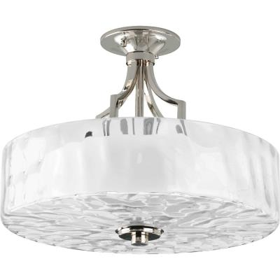 Progress Lighting P3434-104 Caress - Two Light Semi-Flush Mount