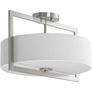 "Harmony - 10.50"" Three Light Convertible Semi-Flush Mount"