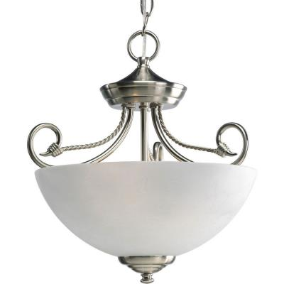 Progress Lighting P3738-09 Pavilion - Two Light Semi-Flush Mount