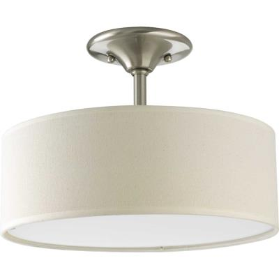Progress Lighting P3939-09 Inspire - Two Light Semi-Flush Mount