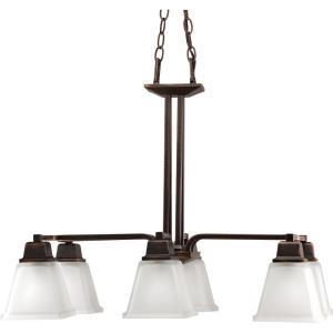 North Park - Six Light Linear Chandelier
