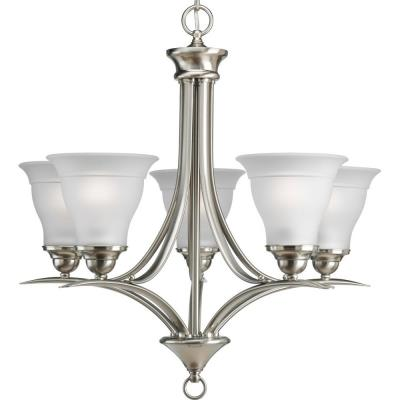 "Progress Lighting P4328-09 Trinity - 20"" Five Light Chandelier"