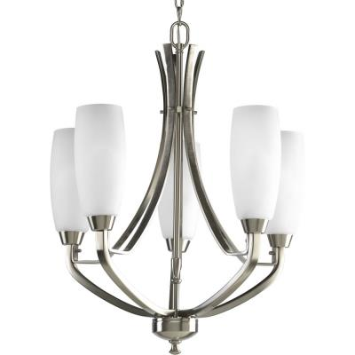 Progress Lighting P4436-09 Five-Light Chandelier Fixture - Chandelier