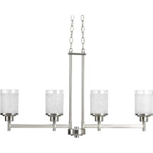 Alexa - Four Light Linear Chandelier
