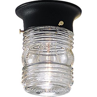 Progress Lighting P5603-31 Utility - One Light Flush Mount