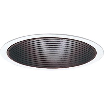 "Progress Lighting P8066-31 Accessory - 6"" Step Baffle Trim"
