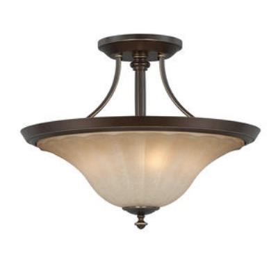 Quoizel Lighting ALZ1718PN Aliza - Three Light Semi-Flush Mount