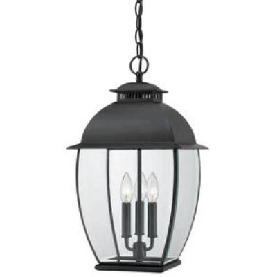 Quoizel Lighting BAN1911K Bain - Three Light Outdoor Hanging Lantern
