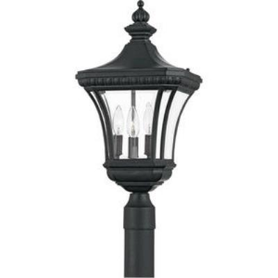 Quoizel Lighting DE9011K Devon - Three Light Large Post Lantern
