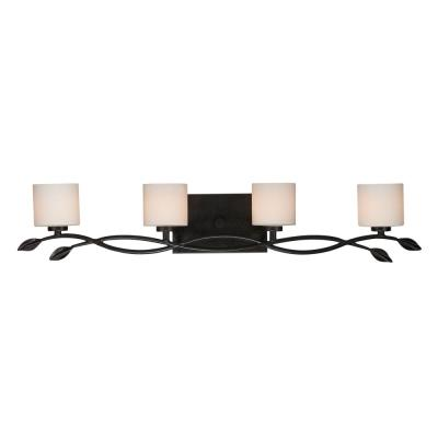 Quoizel Lighting ERN8604IB Erin - Four Light Bath Bar