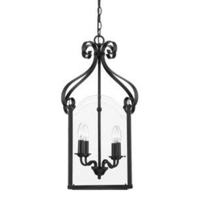 Quoizel Lighting GY5204K Gentry - Four Light Cage Chandelier