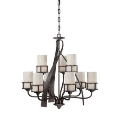 Quoizel Lighting KY5009IN Kyle - Nine Light 2-Tier Chandelier