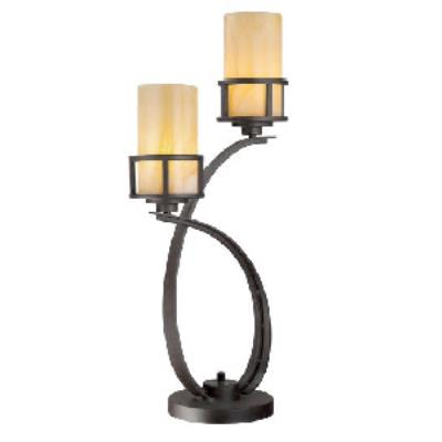 Quoizel Lighting KY6328IB Kyle - Two Light Table Lamp