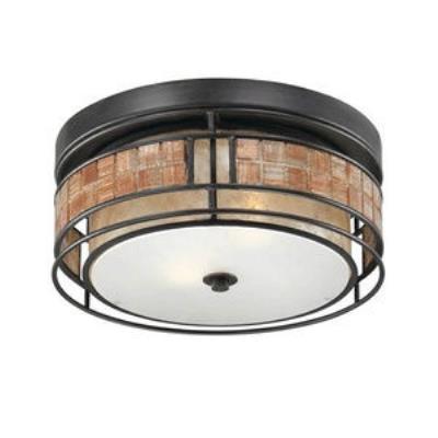 Quoizel Lighting MCLG1612RC Laguna - Two Light Outdoor Flush Mount