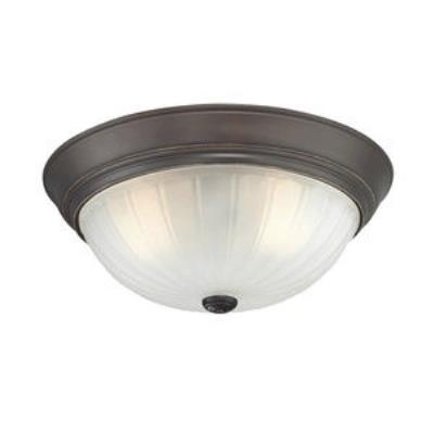 Quoizel Lighting ML184PN Melon - Three Light Flush Mount