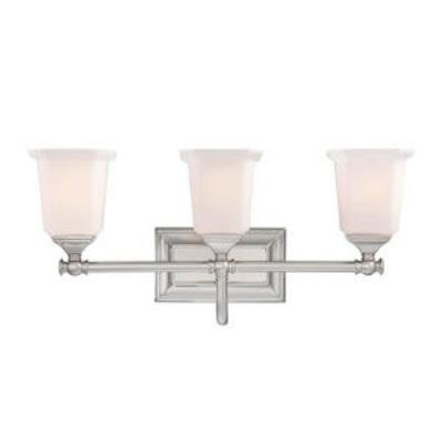 Quoizel Lighting NL8603BN Nicholas - Three Light Bath Vanity