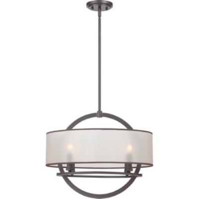 Quoizel Lighting PTD2820WT Portland - Four Light Pendant