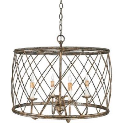 Quoizel Lighting RDY2823CS Dury - Four Light Pendant