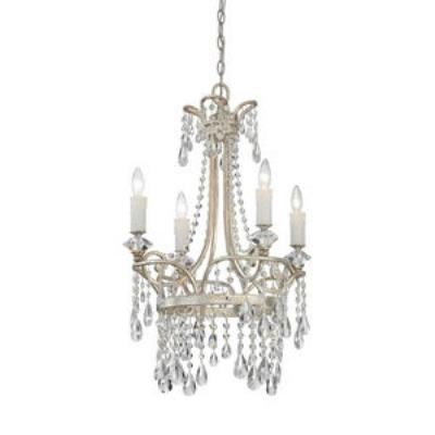 Quoizel Lighting TCA5004VP Tricia - Four Light Chandelier