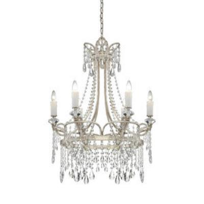 Quoizel Lighting TCA5006VP Tricia - Six Light Chandelier